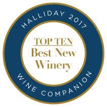 Halliday 2017 Wine Companion Top 10 Best New Winery